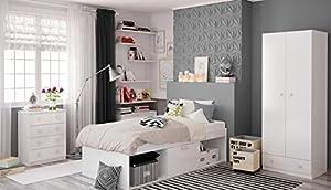 Low Sleeper Cabin Storage Bed