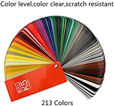 Color Bridge Guide,Colour Fan Deck,Coated & Uncoated K5 Formula Guide Standard Set,RAL-K5 Metallics Coated Guide,213 Color Cards with Numbered Swatches