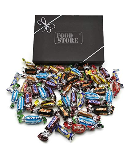 Celebrations Geschenkbox - 40 Riegel (8 Sorten gemischt) perfekt z.B. als Geburtstagsgeschenk