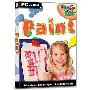 Fun 4 Kids Paint (PC CD):Bemdesaude