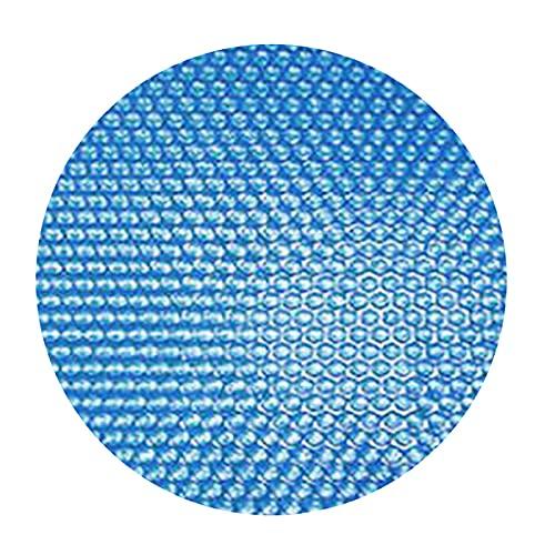 Domybest Copertura Solare Piscina Rotonda Telo Termico Piscina Telone per Piscina Rotonda Copripiscina Antipolvere Antipioggia Copertura Isotermica Piscina per Esterno, Giardino, Cortile