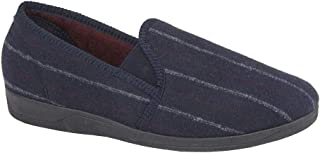 Sleepers Steve Hommes Rayé Chaussons Gris