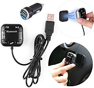 $20 » TOTMOX Hands Free Car Kit Mp3 Music Player Wireless in Car FM Transmitter Radio Adapter Audio Receiver with USB Charger