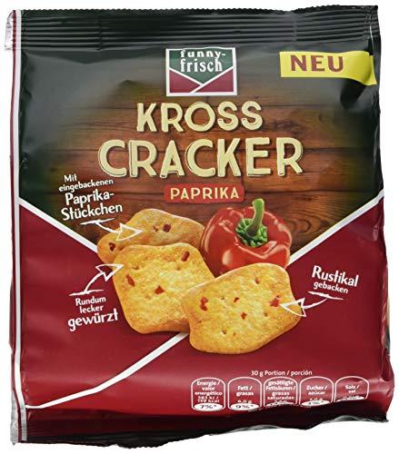 funny-frisch Kross Cracker Paprika, 12er Pack (12 x 100 g)