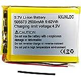 DC 3,7v 2600mah 505573 sustitución de baterías de polímero de Iones de Litio para Batería de Tablet a DIY