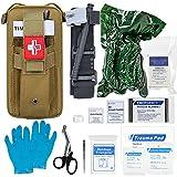 Best Trauma Kits - Emergency Trauma Kit with CAT Tourniquet, Emergency Treatment Review