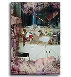 QIUFANGGUO Poster e Stampe Pusha T Daytona Cover Hip Hop Rap Musica Album Art Poster Tela Pittura Decorazioni per la casa 50 * 70 cm Senza Cornice