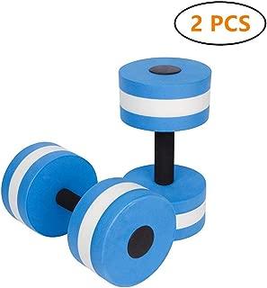 igBoss Sports Aquatic Exercise Dumbbells Aqua Fitness Barbells Exercise Hand Bars - Set of 2 - for Water Aerobics
