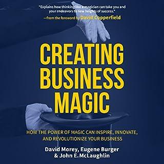 Creating Business Magic audiobook cover art