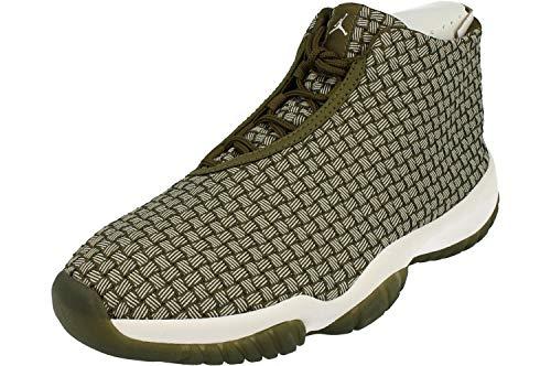 Nike Air Jordan Future Mens Hi Top Basketball Trainers 656503 Sneakers Shoes (UK 9 US 10 EU 44, Olive Canvas 305)