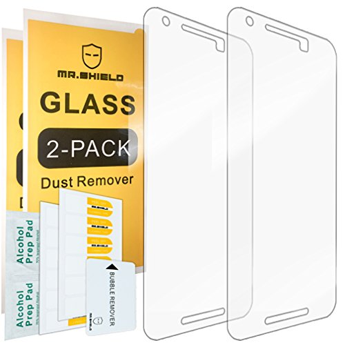 [2-PACK]-Mr.Shield Designed For LG (Google) Nexus 5X 2015 Newest [Tempered Glass] Screen Protector with Lifetime Replacement