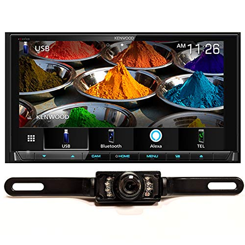 "DIAS Kenwood DDX9906XR 6.8"" DVD Wireless CarPlay/A.Auto & License Plate Cam -  Kenwood eXcelon"