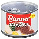 Banner Sausage, Canned Sausage, 10.5 OZ (Pack of 12)