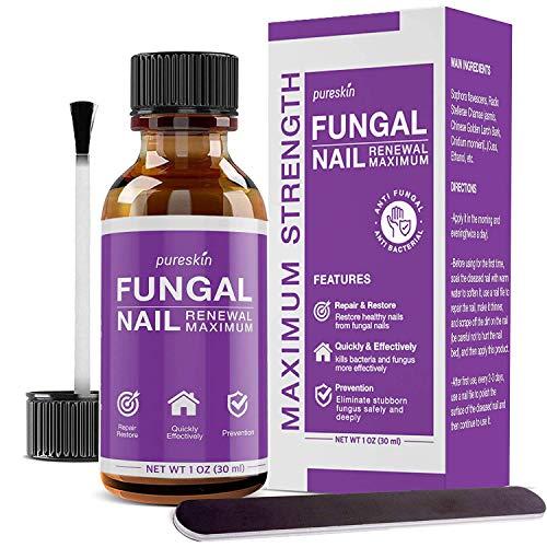 Fungal Nail Renewal – Maximum Strength Nail Fungus Treatment, Toe Fungus Nail Treatment, Health Care Solution for Finger & Toenail Fungus, Athlete's Foot, Ringworm by Fungus