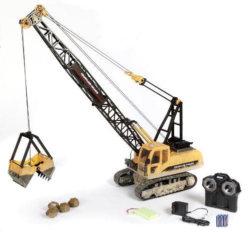 RC Auto kaufen Baufahrzeug Bild: Carson 500907201 - 1:12 Seilbagger, 2.4 GHz, 100% RTR*