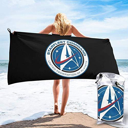 Yuanmeiju Starfleet 2161 Academysuperfine Fiber Quick Drying Beach Towel - Toalla de playa (con bolsa)