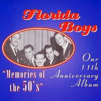 "Bibletone: The Florida Boys 11th Anniversary ""Memories of the  50's"""