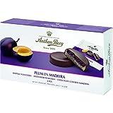 massepain tartes avec garnissage et revêtement Chocolat Anton de Montagne–Prune dans Madère (8Pcs./220g) Danois spécialité