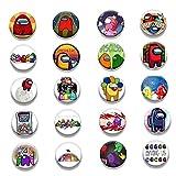 12pcs Juego De Juegos para Mochila DIY Icono De Dibujos Animados Pinzas De Solapa Brooche Insignia Estilos Aleatorios