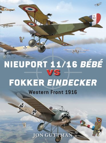 Nieuport 11/16 Bébé vs Fokker Eindecker: Western Front 1916 (Duel Book 59) (English Edition)