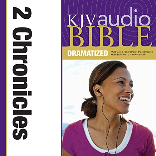 Dramatized Audio Bible - King James Version, KJV: (13) 2 Chronicles audiobook cover art