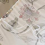 HYSENM 1/2/3/4 Sitzer Sofabezug Sofaüberwurf Stretch weich elastisch farbecht Blumen-Muster, Beige 1 Sitzer 85-140cm - 7