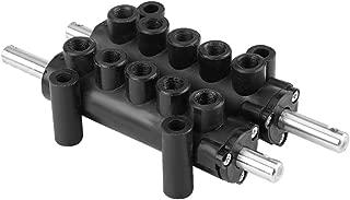 KIMISS Assemblea della pompa ad alta pressione del manometro del manometro del calibro universale 40mpa per il motociclo automobilistico