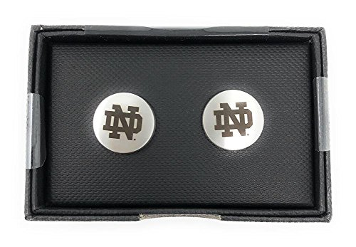 Notre Dame Fighting Irish NCAA Logo'd Executive Cufflinks w/ Jewelry Box
