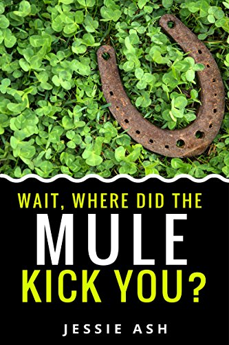 Wait, where did the mule kick you? (English Edition)
