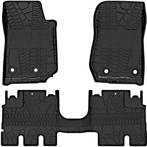 OEDRO Floor Mats Liners Compatible for 2014-2018...