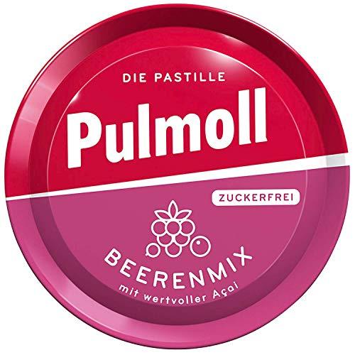 10 x Pulmoll Beerenmix zuckerfrei mit Acai + Vitamin C