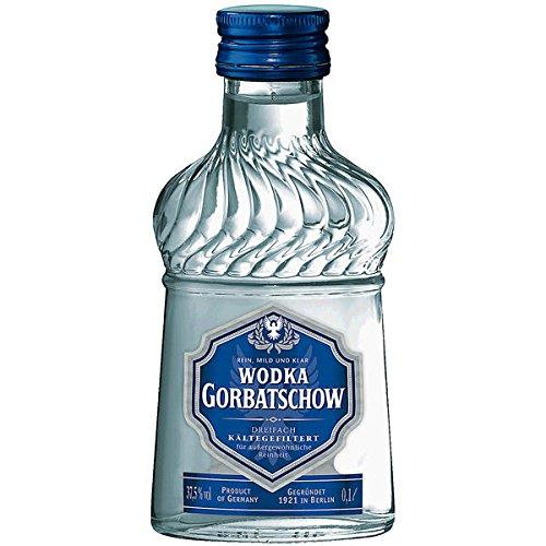 Wodka Gorbatschow - 37,5% Vol. Taschenflasche - 12 x 0,1 Liter