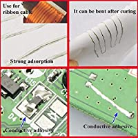 導電性銀接着剤、導電性熱銀ペーストは、PC用PET用23℃未満の涼しい屋内場所に簡単に保管できますPU用PVC用