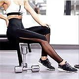 Pantalones, Leggings deportivos para mujer Leggings de retales de malla de cintura alta Pantalones ajustados Push Up M, Ropa para mujer (Negro M)