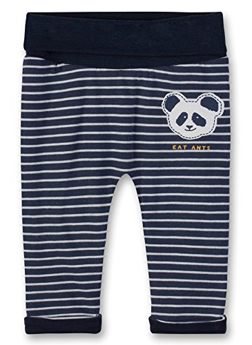 Sanetta Sanetta Baby-Jungen Jogging Pants Lined Jogginghose, Blau (Evening Blue 5683.0), 74