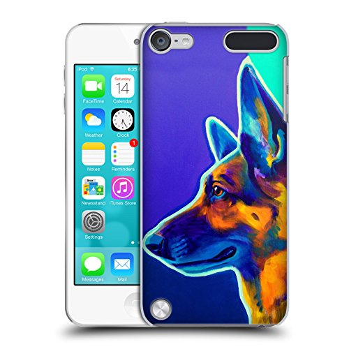 Head Case Designs Officially Licensed DawgArt German Shepherd Schatze Dogs 2 Hard Back Case Compatible with Apple iPod Touch 5G 5th Gen