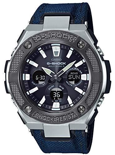 [カシオ] 腕時計 ジーショック G-STEEL 電波ソーラー GST-W330AC-2AJF メンズ ブルー