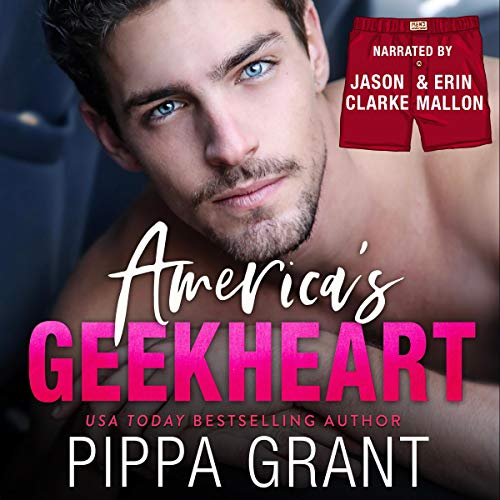 America's Geekheart audiobook cover art