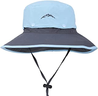 YXSDD Summer Sun Hat - Unisex Sun Protection UV Fishing Cap Nylon Rock Climbing Cap - Adjustable Chin Band - Cap Top Remov...
