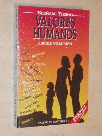 VALORES HUMANOS 3 TERCER VOLUMEN