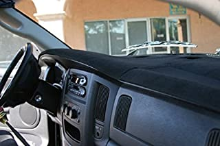 Angry Elephant Dodge Ram Black Carpet Dashboard Cover- 2006-2008 All Models, 2009 2500/3500/4500/5500, 2010 4500/5500. Custom Fit Dash Cover, Easy Installation.