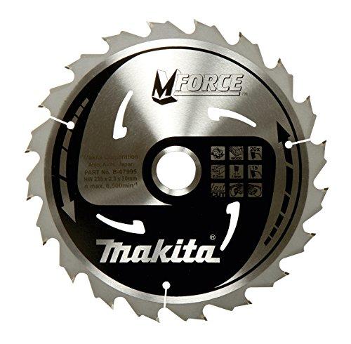 Makita B-32041  MForce Kreissägeblatt, 190 mm für Hand und Tischkreissägen