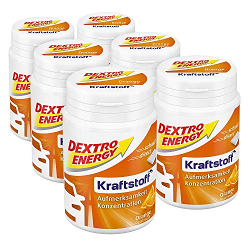 Dextro Energy Kraftstoff Minis Orange, 6er Pack (6 x 68 g)