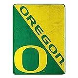 The Northwest Company Oregon Ducks 'Halftone' Micro Raschel Throw Blanket, 46' x 60' , Green