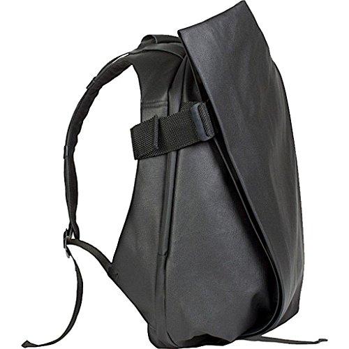 コートエシエル バックパック Isar Rucksack Coated Black (13-15インチ) 28331 [並行輸入品]