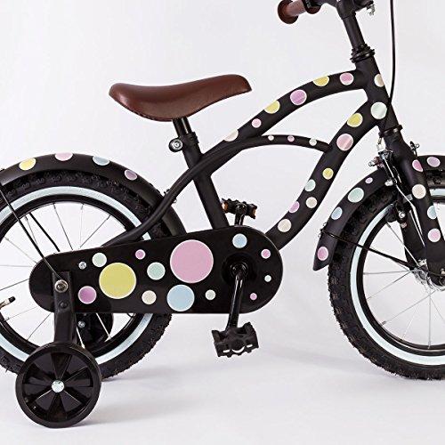 Motoking Reflektierende Aufkleber für Fahrrad, Helm und mehr – Pastellpunkte - 3