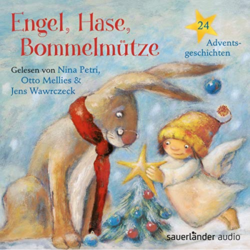 Engel, Hase, Bommelmütze cover art