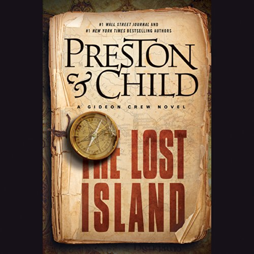 The Lost Island audiobook cover art
