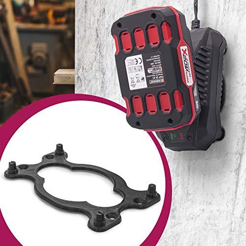 Oplader wandhouder 20V accu batterij houder voor Lidl Parkside X20V Team