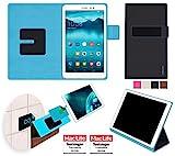reboon Hülle für Huawei MediaPad T1 8.0 Tasche Cover Case Bumper | in Schwarz | Testsieger